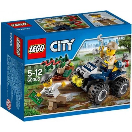LEGO CITY PATRULLA TODOTERRENO