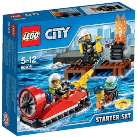 LEGO CITY SET DE INTRODUCCION BOMBEROS