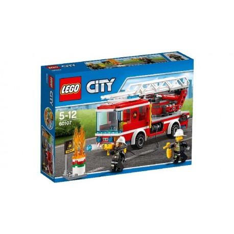 LEGO CITY CAMION DE BOMBEROS CON ESCALERA