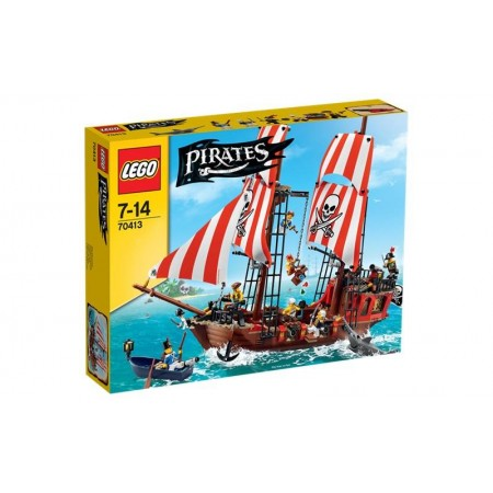 LEGO PIRATES BARCO LADRILLO NEGRO