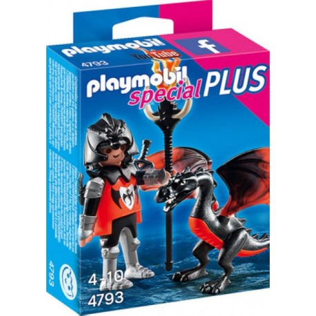 PLAYMOBIL CABALLERO CON DRAGON