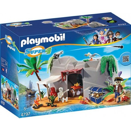 PLAYMOBIL CUEVA PIRATA