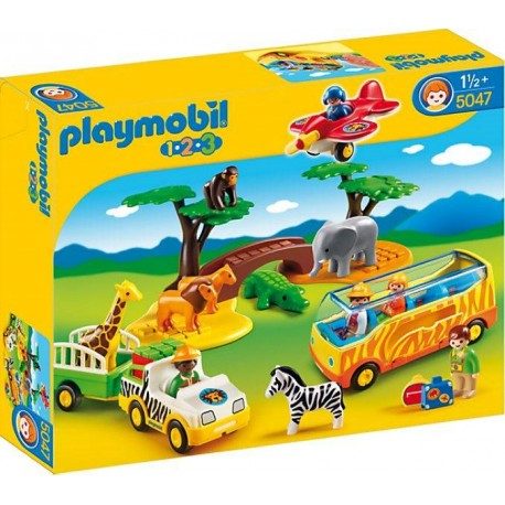 PLAYMOBIL 1.2.3. GRAN SAFARI AFRICANO