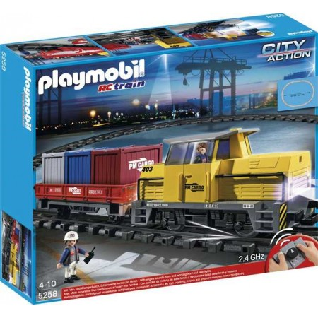 PLAYMOBIL TREN DE MERCANCIAS R/C