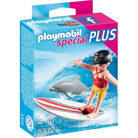 PLAYMOBIL SURFISTA CON TABLA DE SURF