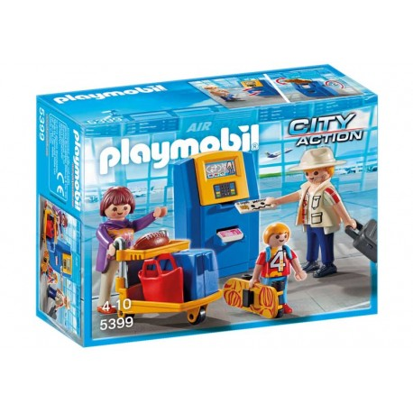 PLAYMOBIL FAMILIA CHECK-IN