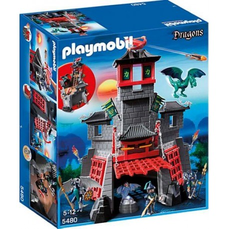 PLAYMOBIL FORTALEZA SECRETA DRAGON