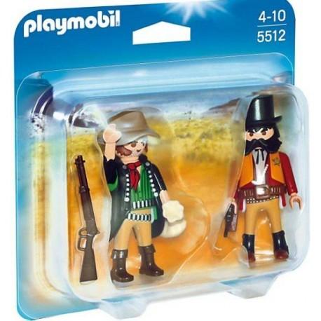PLAYMOBIL DUO PACK SHERIFF Y BANDIDO
