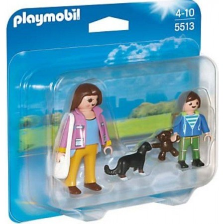 PLAYMOBIL DUO PACK MADRE CON NIÑO
