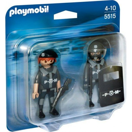 PLAYMOBIL DUO PACK POLICIAS