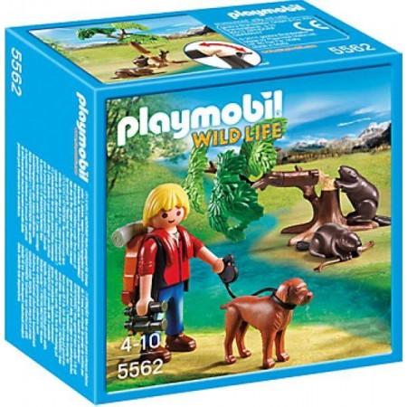 PLAYMOBIL CASTORES CON MOCHILERO