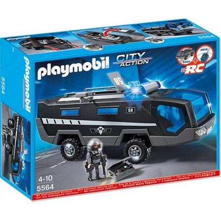 PLAYMOBIL CAMION UNIDAD ESPECIAL POLICIA