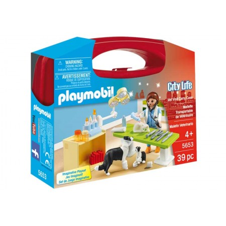 PLAYMOBIL MALETIN VETERINARIA