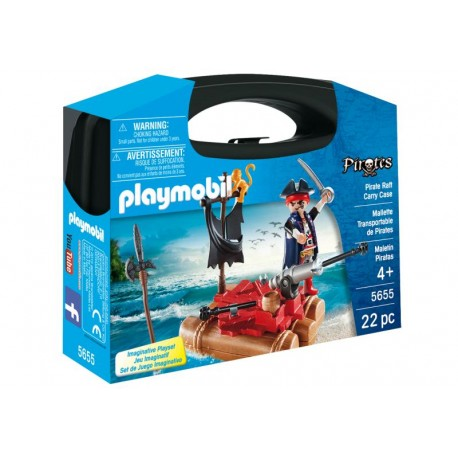 PLAYMOBIL MALETIN PIRATA