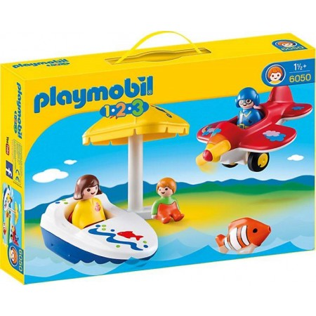PLAYMOBIL 1.2.3. DIVERSION EN VACACIONES