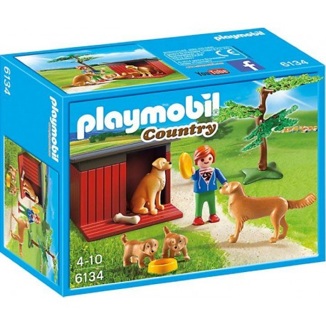 PLAYMOBIL GOLDEN RETRIEVERS