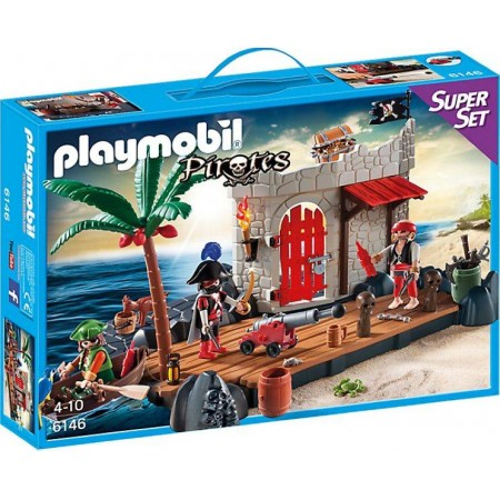PLAYMOBIL SUPERSET FUERTE PIRATA