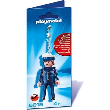 PLAYMOBIL LLAVERO POLICIA