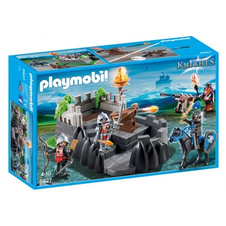 PLAYMOBIL BASTION DE LOS CABALLEROS DEL DRAGON