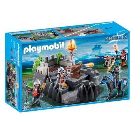 PLAYMOBIL BASTION DE LOS CABALLEROS DEL DRAGON