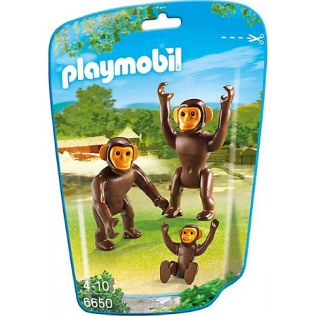 PLAYMOBIL CHIMPANCES