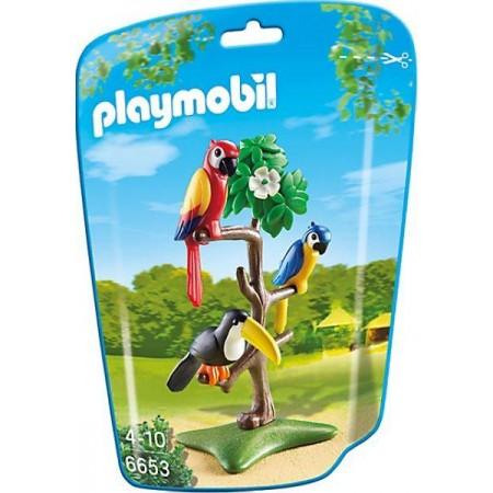 PLAYMOBIL PAJAROS TROPICALES