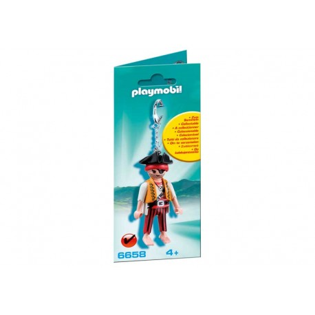 PLAYMOBIL LLAVERO PIRATA