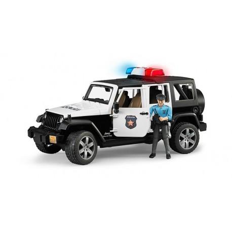 JEEP WRANGLER UNLIMITED CON POLICIA Y SIRENA