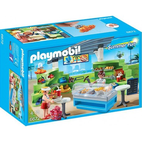 PLAYMOBIL SPLISH SPLASH CAFE