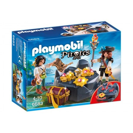 PLAYMOBIL ESCONDITE DEL TESORO PIRATA