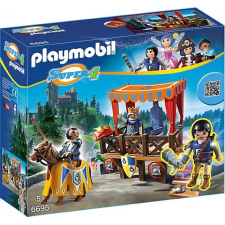PLAYMOBIL TRIBUNO REAL CON ALEX