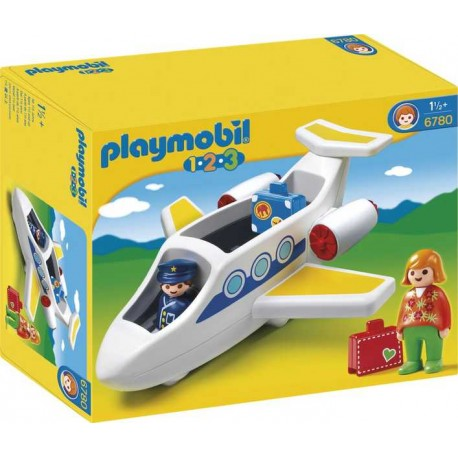 PLAYMOBIL 1.2.3. AVION