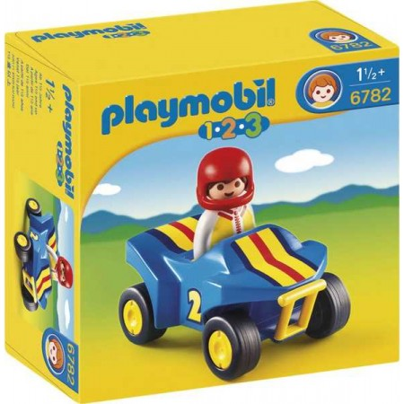 PLAYMOBIL 1.2.3. QUAD