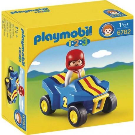 PLAYMOBIL 1.2.3. QUAD