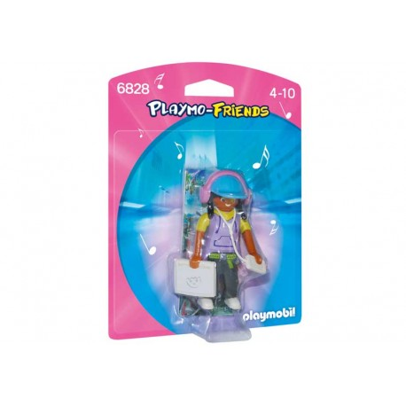 PLAYMOBIL CHICA MULTIMEDIA