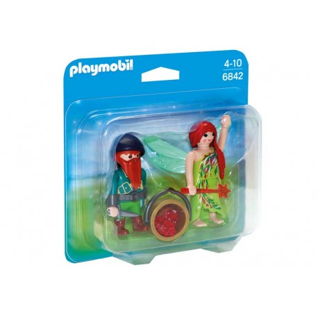PLAYMOBIL DUO PACK HADA Y ELFO