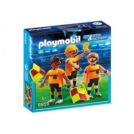 PLAYMOBIL TRIO DE ARBITROS