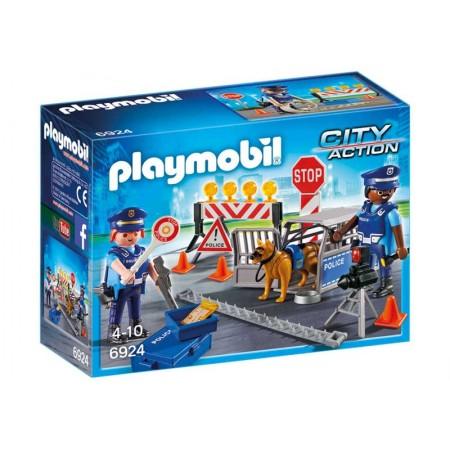 PLAYMOBIL CONTROL DE POLICIA