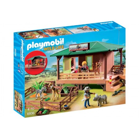 PLAYMOBIL CLINICA VETERINARIA DE AFRICA