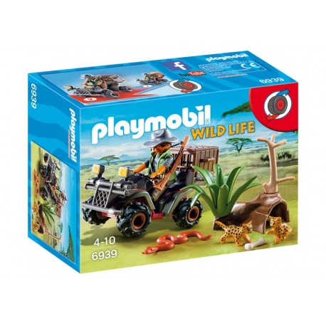 PLAYMOBIL EXPLORADOR CON QUAD