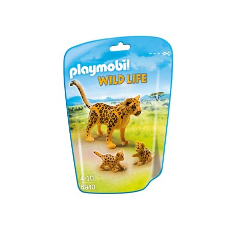 PLAYMOBIL LEOPARDO CON CRIAS