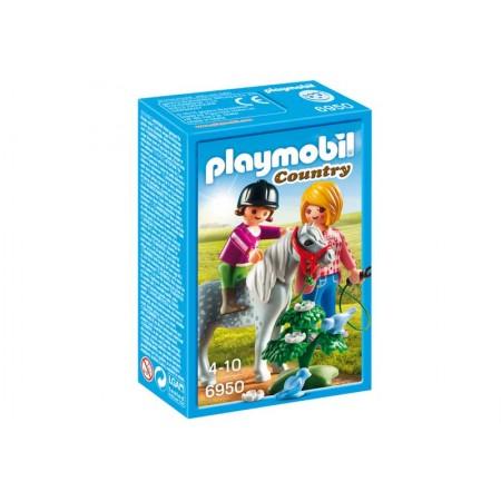PLAYMOBIL PASEO CON PONI