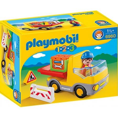 PLAYMOBIL 1.2.3. CAMION DE CONSTRUCCION