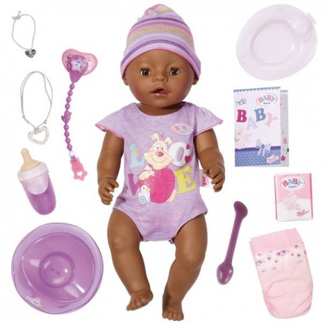 BABY BORN INTERACTIVO ETNICO