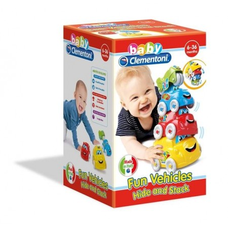 BABY CLEMENTONI COCHES APILABLES