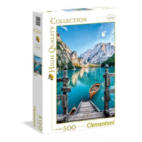 PUZZLE 500 PZAS. BRAIES LAKE
