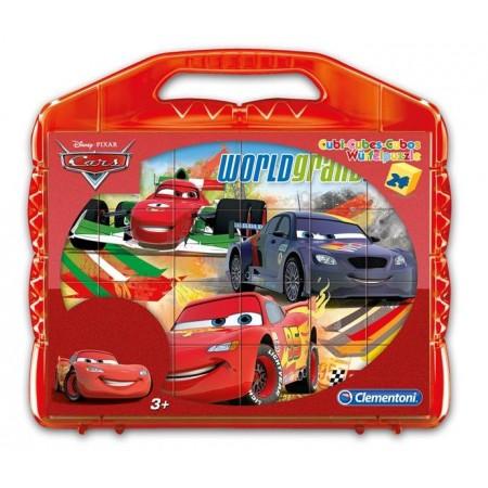 ROMPECABEZAS 24 CUBOS CARS