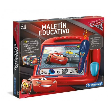 MALETIN EDUCATIVO CARS 3