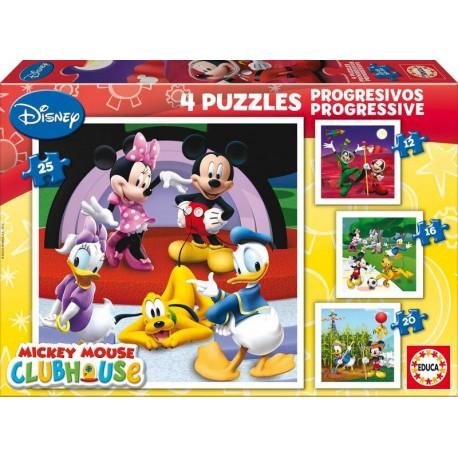 PUZZLES PROGRESIVOS MICKEY CLUB HOUSE