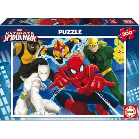 PUZZLE 200 PZAS.ULTIMATE SPIDERMAN